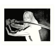 Black Mamba - KILL BILL Art Print