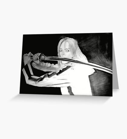 Black Mamba - KILL BILL Greeting Card