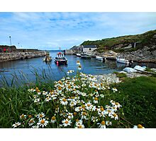 Ballintoy Harbour, Co Antrim, Northern Ireland Photographic Print