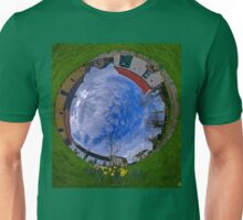 Hanna's Close, County Down (Sunny sky In) Unisex T-Shirt