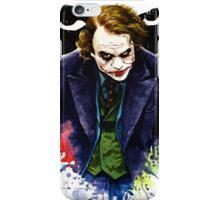 Angel of Chaos / The Joker (Heath Ledger) iPhone Case/Skin