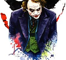 Angel of Chaos / The Joker (Heath Ledger) by CGArts