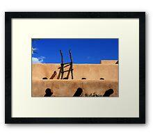 Ladder, Tucson, AZ Framed Print