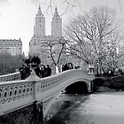 Bow Bridge, Central Park, New York City by Jeff Blanchard