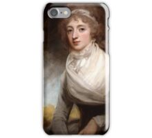 George Romney (1734 -1802) Lady Mary Scott-Montagu, Countess of Courtown, 1793 iPhone Case/Skin
