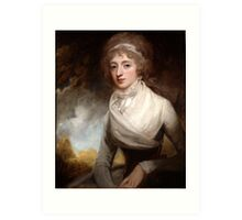 George Romney (1734 -1802) Lady Mary Scott-Montagu, Countess of Courtown, 1793 Art Print