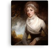 George Romney (1734 -1802) Lady Mary Scott-Montagu, Countess of Courtown, 1793 Canvas Print