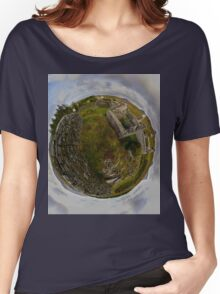 Ruins at Cashelnagor, County Donegal, Ireland Women's Relaxed Fit T-Shirt