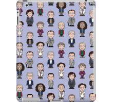 Repeating Sherlock and Friends iPad Case/Skin