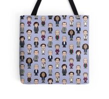 Repeating Sherlock and Friends Tote Bag