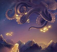 Octopus's garden by tiphs