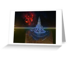 Explorer Nautilus. Greeting Card