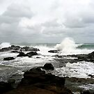 On the Rocks! Mooloolaba, Queensland by Magee