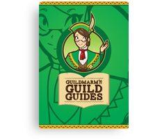 Guildmarm's Guild Guides! Canvas Print