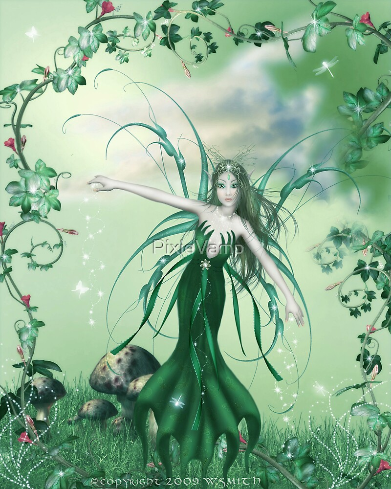 Fairy Of The Grass by PixieVamp