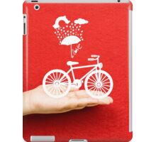 bicycle lovely from hand iPad Case/Skin