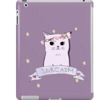 Sarcasm Cat iPad Case/Skin