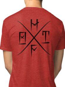 HF Original taste Black large Tri-blend T-Shirt