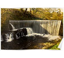 Calder Waterfall, Lochwinnoch Poster