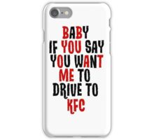 KFC iPhone Case/Skin
