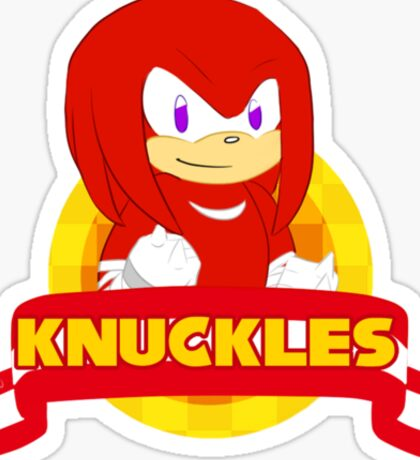 Sonic Boom - Chibi Knuckles Sticker