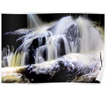 Calder `waterfall, `lochwinnoch Poster