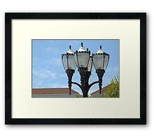 Four Lighter Framed Print