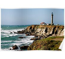 Point Arena Lighthouse Poster