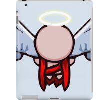 The Binding of Isaac - Minimalistic Angel Gabriel [Vector] iPad Case/Skin