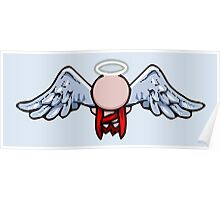 The Binding of Isaac - Minimalistic Angel Gabriel [Vector] Poster