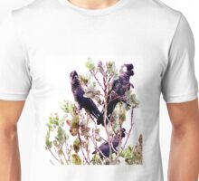 Endangered - Short-billed Black Cockatoo Unisex T-Shirt