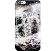 Calder Waterfall, Lochwinnoch iPhone Case/Skin