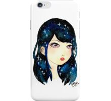 Starry-eyed in space  iPhone Case/Skin