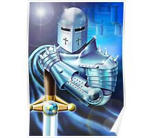 Blue Knight Poster