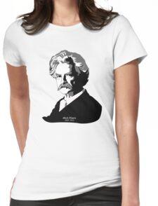 Mark Twain Womens Fitted T-Shirt