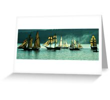 Listen to the Canons Roar!! Greeting Card