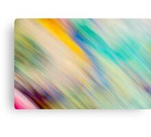 Raining Colour Canvas Print
