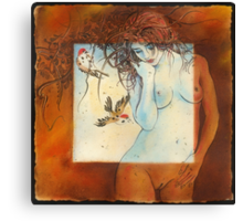 """""""Somewhat Censored"""" Canvas Print"""