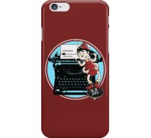 archy loves mehitabel iPhone Case/Skin