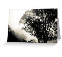 Through the Fog, Zomba, Malawi Greeting Card