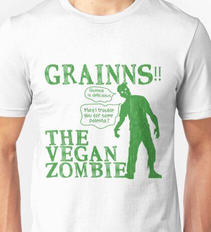 Grains - The Vegan Zombie Unisex T-Shirt