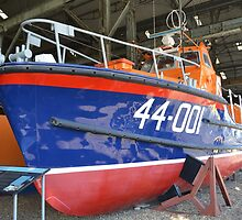RNLI Waveney class prototype  44-001 by mike  jordan.