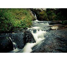 Waterfall, Zomba Plateau, Malawi Photographic Print