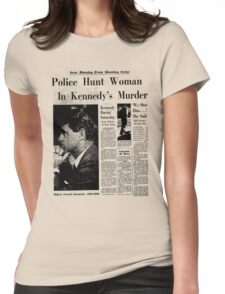 The Latest News Womens Fitted T-Shirt