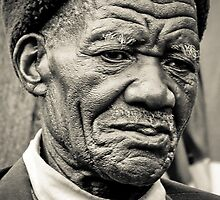 Old Man, Malawi by Tim Cowley