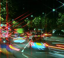 Park Lane Traffic by Jeff Blanchard