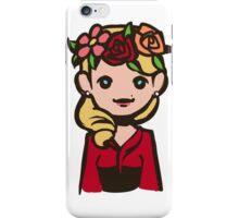 Bedelia flower crown iPhone Case/Skin
