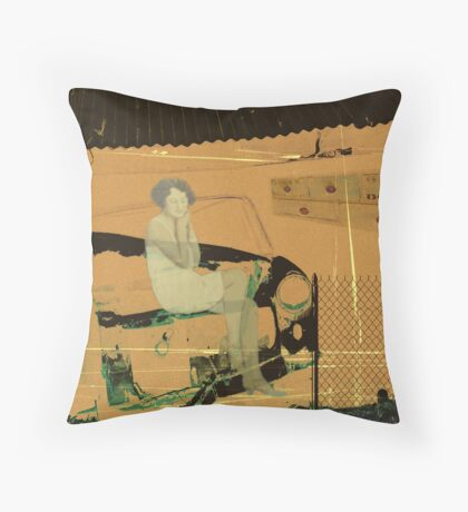 Olden Dayz Throw Pillow
