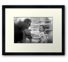 My Daddy Is So Funny Framed Print