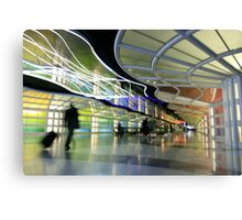 The People Mover Corridor Canvas Print